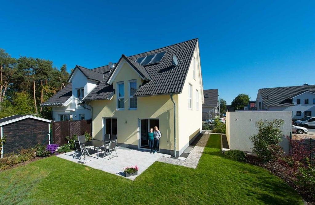 Häuser Doppelhaus