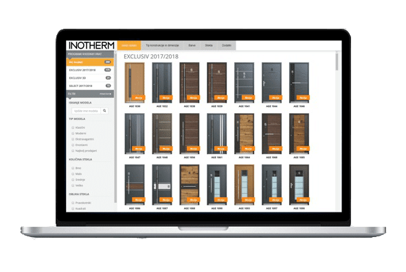 Services Konfigurator Haustüren